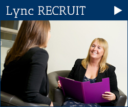 Link to Lync HR Recruitment page